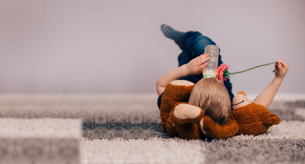 Better Ventilation - A child resting in a Multicomfort international home